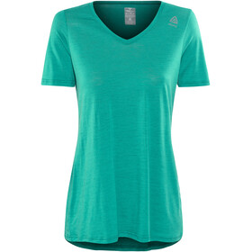 Aclima LightWool Loose Fit T-Shirt Women harbor blue